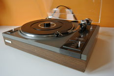 Vintage quality turntable Pioneer PL112D with wooden plinth (1976-1977)