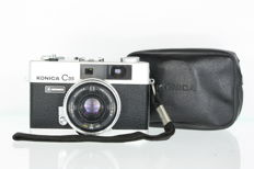 Konica C35 Automatic analogue camera with Konica Hexanon 38 mm F2.8 lens