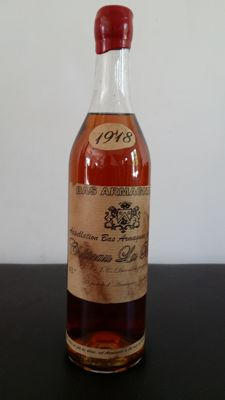 Bas Armagnac Chateau la Brise - vintage 1918 - bottled in 1984