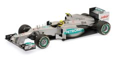 Minichamps - Scale 1/18 - Mercedes AMG Petronas F1 Team W03 N. Rosberg, 1st win China GP 2012