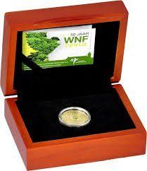 "The Netherlands – 10 Euro coin 2011 ""50 Years World Wide Fund for Nature"""