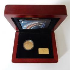 "The Netherlands – 10 Euro 2004 ""Europe coin"" in case – gold"