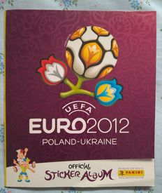 Panini - Euro 2012 Poland/Ukraine - International edition - Complete Album.