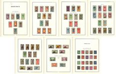 Upper Volta 1920-1931 — Complete collection + Stamp duty — Yvert No. 1-69