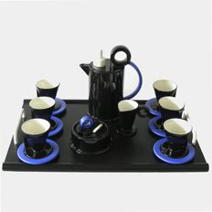 "Marco Zanini for Bitossi – ""Hollywood collection"" coffee set."