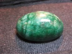 Green emerald - Oval cabochon - 51.20 x 37.10 x 20.20 mm - 300.15 cts