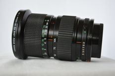 Canon FDn 1: 3.5 35-105 mm zoom lens with macro setting