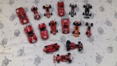 Brumm / handmade by workers of Ferrari - Scale 1/43 - lot with 15 models: 15 x Ferrari cars