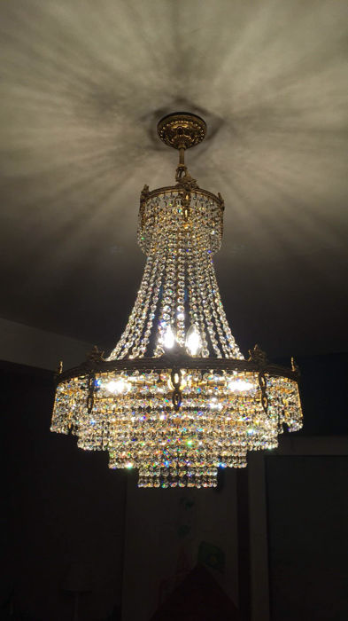 Crystal chandelier - 1970s