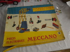 "Meccano, France / Philips, The Netherlands - ""Pieces Electrique A"" ""Mechanical Engineer"" Sets, 1960s/70s"