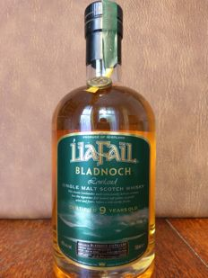 Bladnoch 9 years old Rare LiaFail bottling.