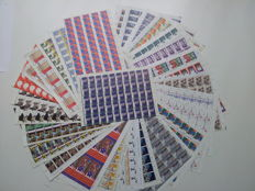 Netherlands 1977/2001 – Selection of 28 complete sheets