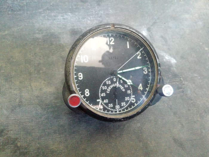 Original Russian( СССР/USSR ) watch CHP- 60 for the supersonic fighters  MiG-29  - Catawiki