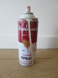 Mr Brainwash - Spray Can (White)