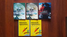 Lot of 5 Technical Handbooks about Air conditioning, Airbags and the Electronic control systems