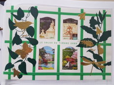 France - 1991/2006 Collection of modern sheets and thematic editions including imperforate series
