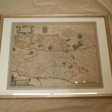 France - Mercator - Lionnois - Principality of Dombes - 1592
