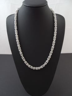 Silver 925 kt necklace, 50 cm