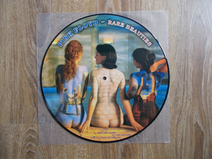 """Pink Floyd Lp """"Rare Beauties """"  Picture Disc , Limited Edition ,"""