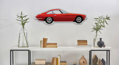 Halmo Collection Lamborghini 400 GT plexiglass model