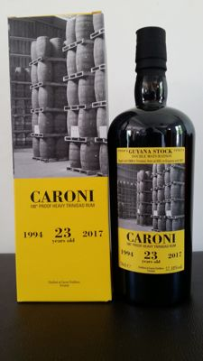 Rum Caroni 1994 Velier - 23 years old - Guyana Stock
