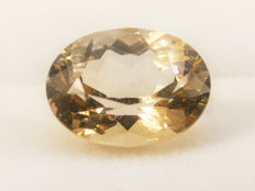 Topaz champagne - 5,98 ct - No Reserve Price