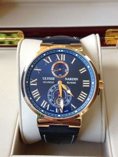 Ulysse Nardin — Maxi Marine Chronometer 43mm — 266-67/43 — Men — 2011-present
