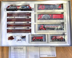 "Märklin H0 - 26520 - Train set Mercedes-Benz Actros ""Star Train"""