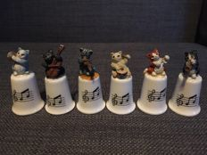 Collection thimbles/Thimble animals/Animals 109 pieces