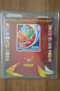 Panini - World Cup Canada 2015 Women - Factory Sealed - New Album + Full Set of Stickers.
