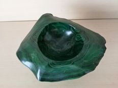 Big and beautiful banded Green Malachite -  25 x 21 x 12cm - 10000gm
