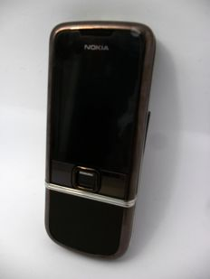 Nokia 8800 Arte brown Unlocked GSM with charger, battery and instructions.
