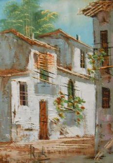 Roble - Lot of 2 works, Village