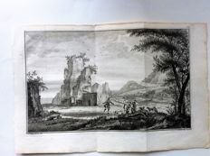 South America, Muiters op eiland achtergelaten, George Anson, Richard Walter, 1749