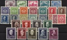 Austria – Empire and 1st Republic from 1915 – complete sets