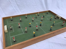 Beautiful original 50s table soccer game