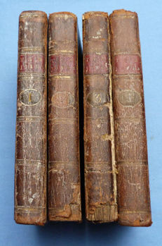 Henry Fielding - Tom Jones a Foundling - 4 volumes - 1786/1787
