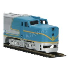 Athearn H0 - Two part diesel locomotive PA-1 and PB-1 of the Delaware & Hudson