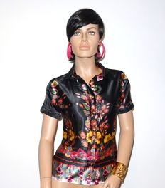 Roberto Cavalli - Incredibly nice blouse, beautiful colours, nice details, no reserve