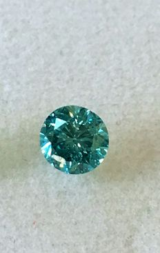 Natural diamonds ct. 0.43 No reserve price.