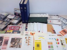 The Netherlands – Batch of stamp booklets, First Day Covers, postal value items and 13 year sets.