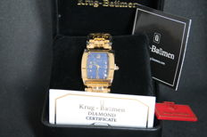 Krug-Baumen men's Tuxedo, Diamond men's wristwatch.