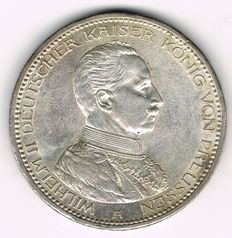 German Empire, Prussia - 5 Mark 1913 A - silver