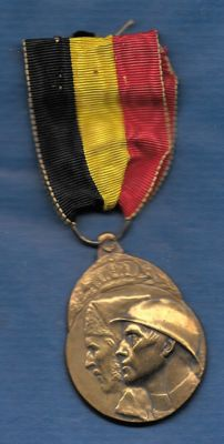 Belgium, Medal of the Voluntary Combatant 1914-1918