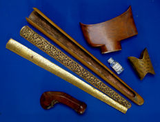 Kris/keris hilt and other parts, gadgets, Indonesia