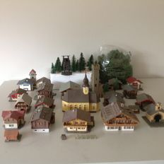 Kibri/Faller N - Alpine village with accessories