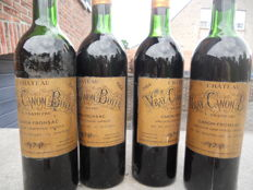 1964 Chateau Vray Canon Boyer, Canon Fronsac - 4 bottles