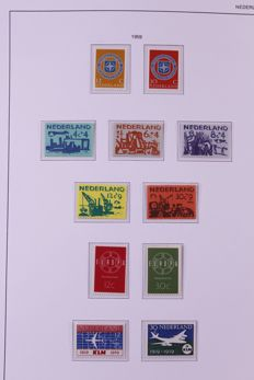 Netherlands 1872/2010 – Batch of stamps + special collection of cards with Johannes Vermeer