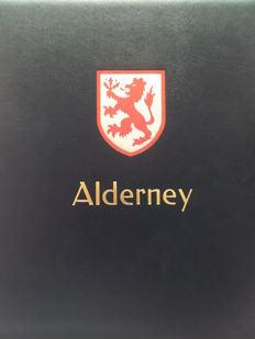 Alderney 1983/2007 - collectie in Davo album