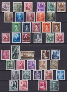 Spain, 1950s/1970s – Selection of 272 stamps (sets and single stamps)